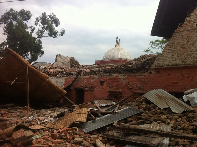 Nepal's earth quake April 25, 2015 (Photo Courtesy : Udayan Mishra)