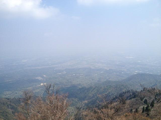 釈迦ヶ岳 眺望