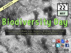 Poster for our Biodiversity Day Hangout #idb2015 @RichardMcLellan @CBDNews @UNBiodiversity