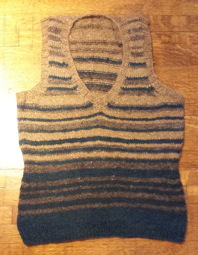 Completed vest