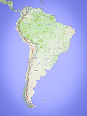 South American Route Map 2