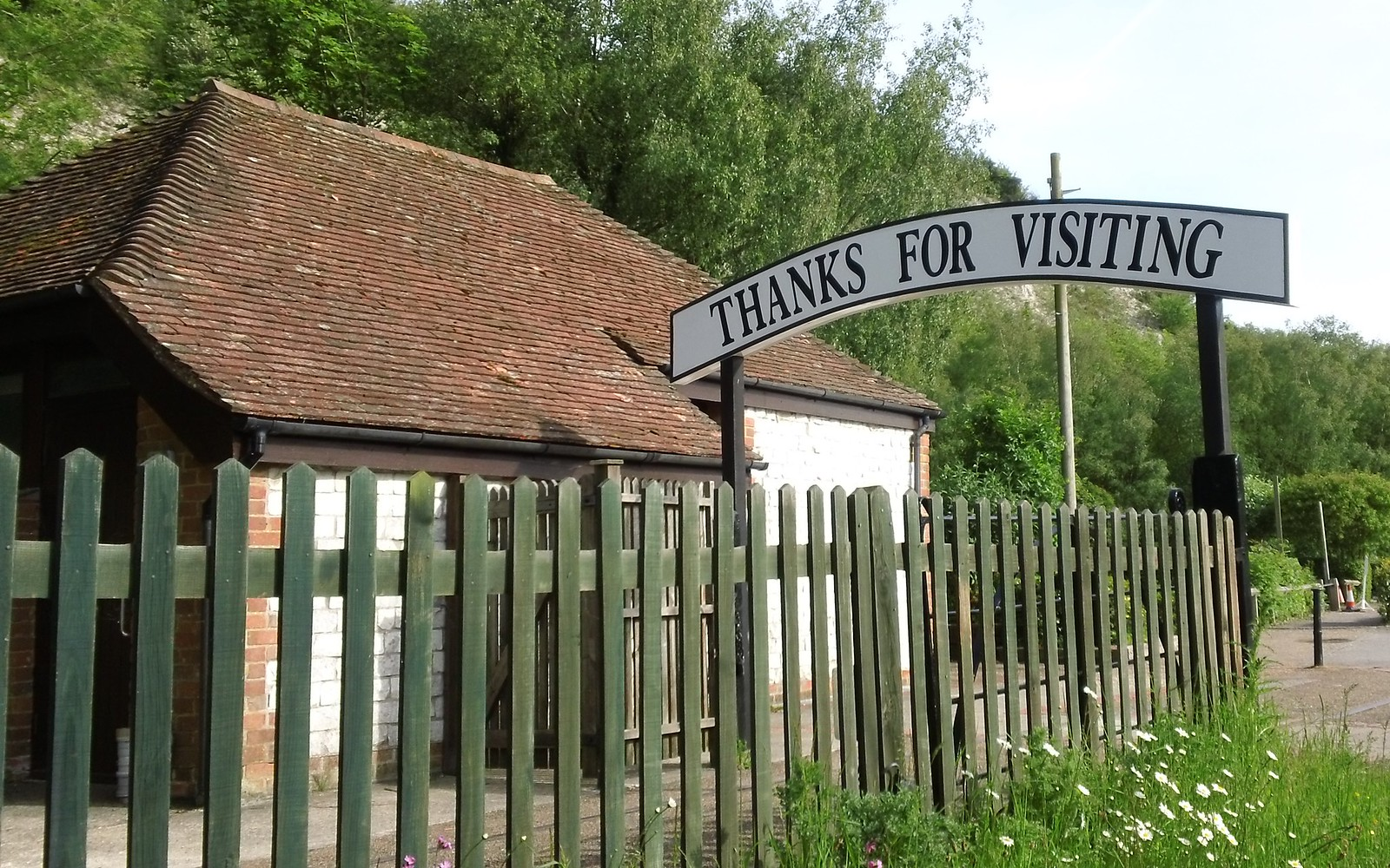 Says it all Amberley station