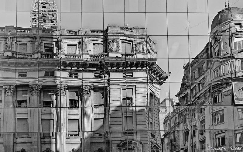 Calle Perú y Avenida de Mayo, Buenos Aires, Argentina