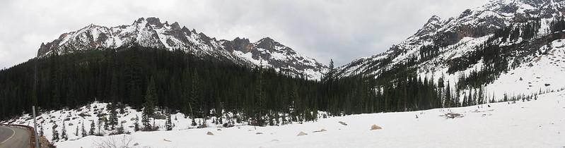 Washington Pass Mountains