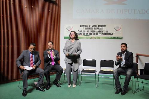 El día 21 de julio del 2016 se llevó a cabo en la H. Cámara de Diputados el Foro: Análisis del medio ambiente en la Ciudad de México Retos y Perspectivas.