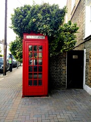 A RED TELEPHONE BOX - FREE FOR COMMERCIAL USE - FFCU -FREEFCU