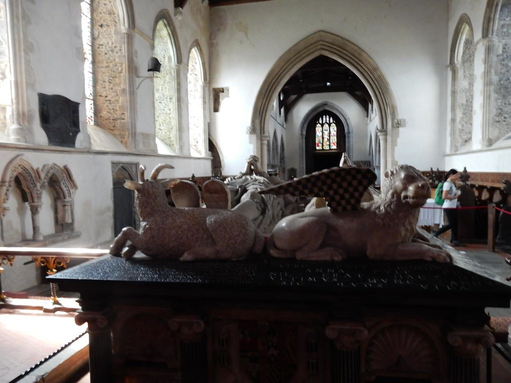 The Brooke tomb Cuxton to Halling - Mary Magdalene church, Cobham