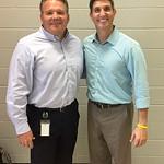 Pea Ridge Superintendent Rick Neal & Paul - Pea Ridge, Arkansas