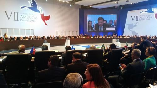 Primera plenaria de la Cumbre de las Américas vivió histórico estreno de Cuba