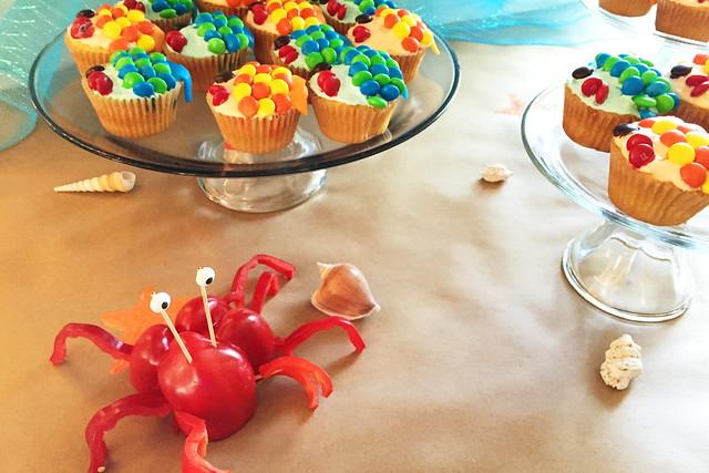kids' aquarium themed party