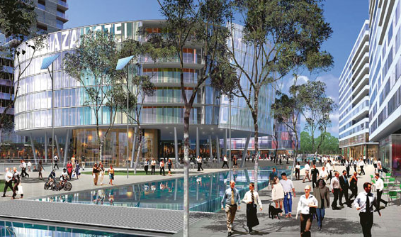 Green Square is a partnership project between Mirvac and UrbanGrowth NSW