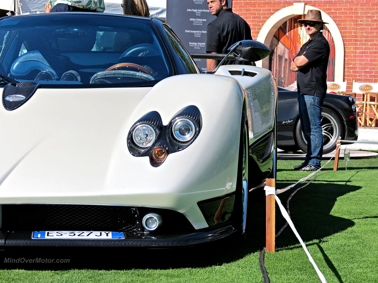 Horacio's Pagani Zonda F Headlight