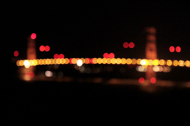 Bokeh of the Golden Gate