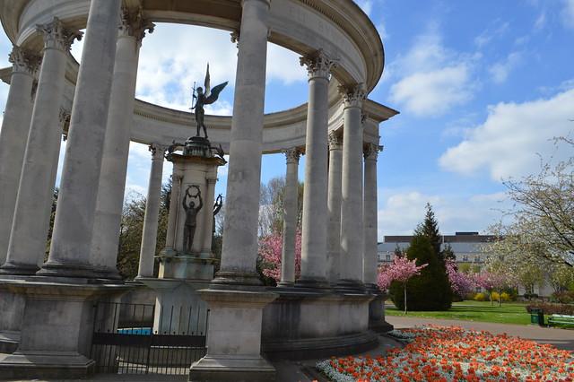Cathays Park Cardiff