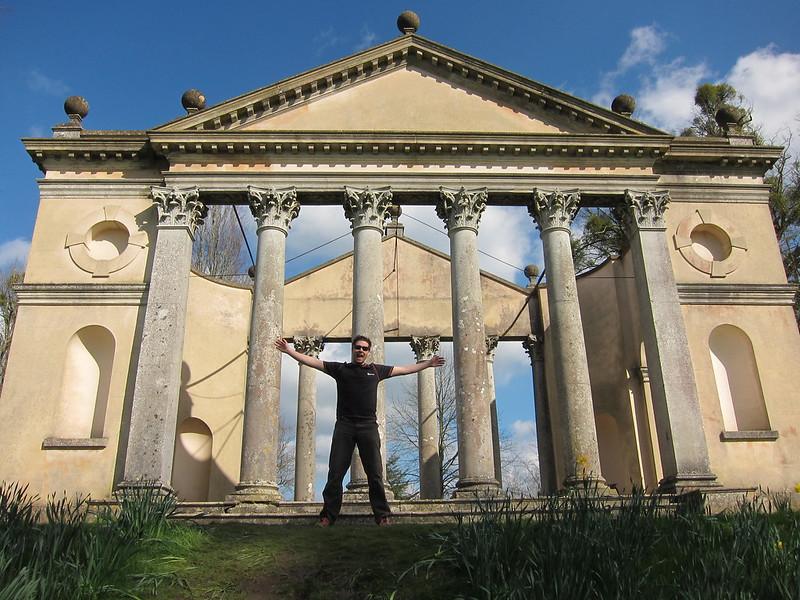 Highclere Castle - Etruscan Temple