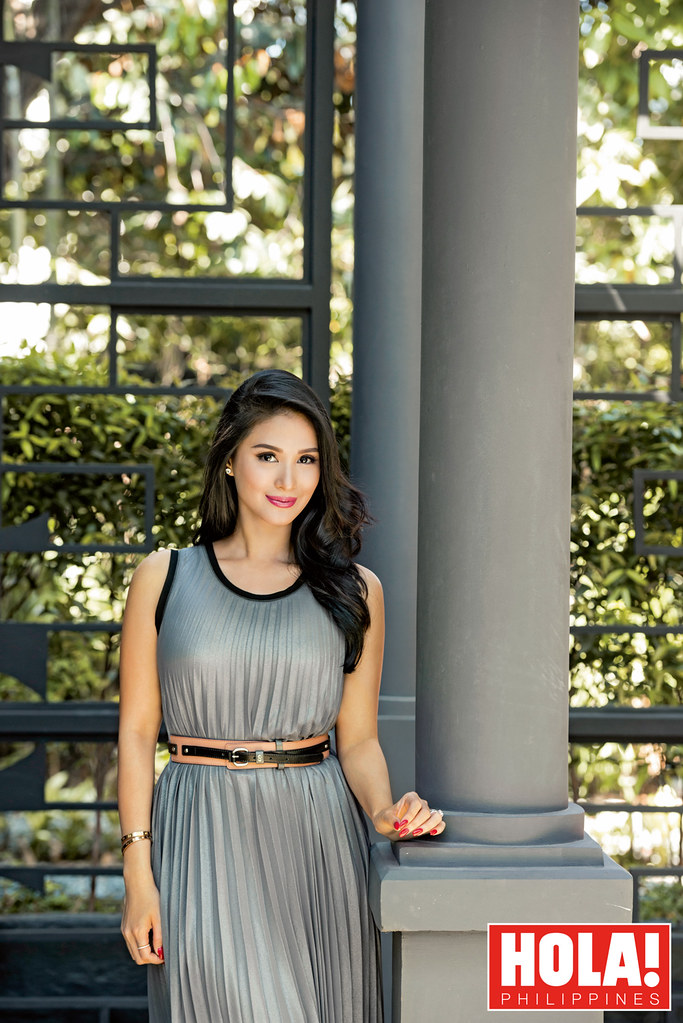 Heart Evangelista in Hola!