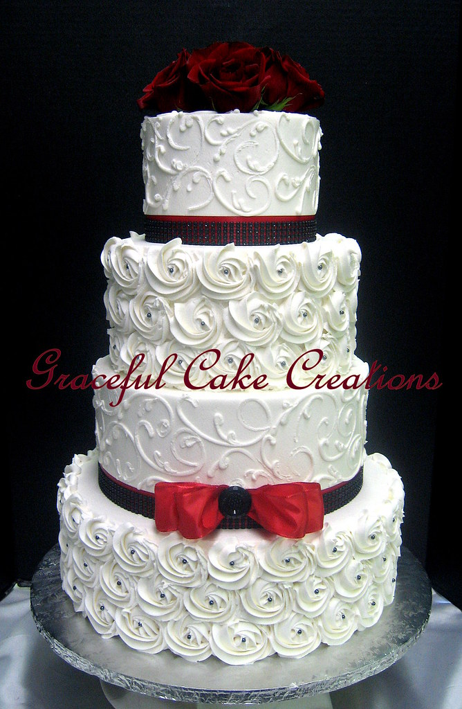 Black N White Wedding Cakes