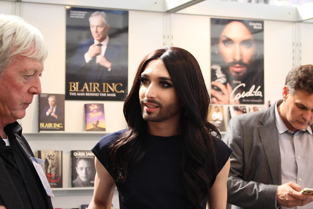 Conchita Wurst - London Book Fair 2015