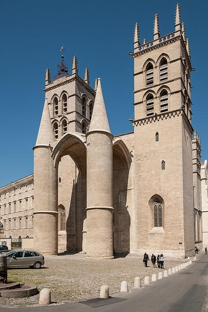 Cath drale saint pierre montpellier flickr photo sharing - Cathedrale saint pierre de montpellier ...
