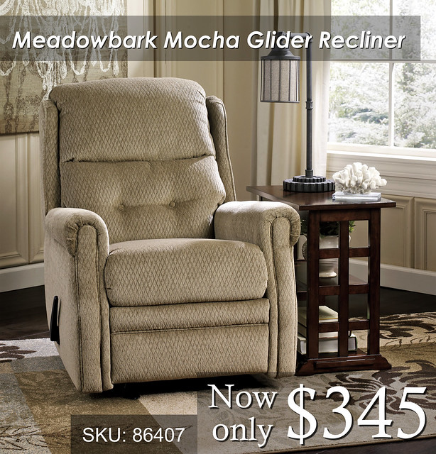 Meadowbark Mocha Recliner