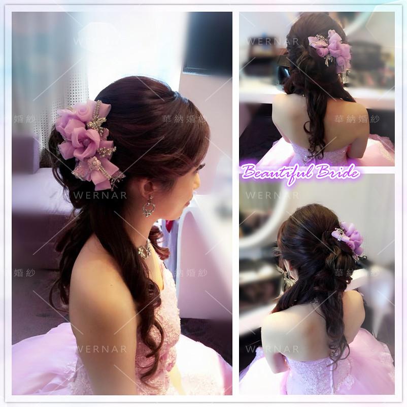 新娘祕書,新祕, 新娘髮型