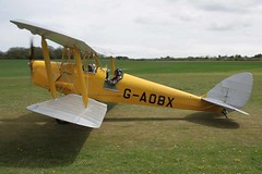 G-AOBX de Havilland DH-82A Popham