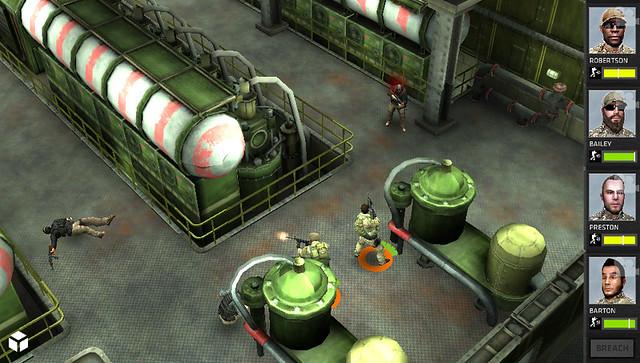Breach & Clear on PS Vita
