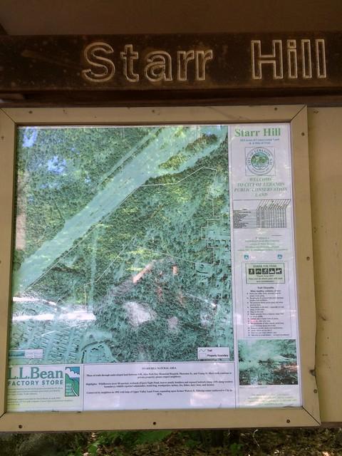 Lebanon, Map, New Hampshire, Starr Hill