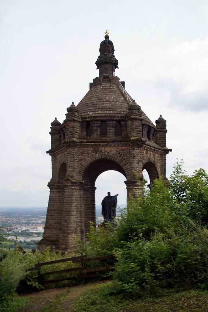 Porta Westfalica Nordrhein Westfalen Deutschland