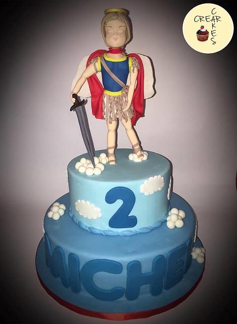Archangel Cake by Ileana Lino of Crear Cakes