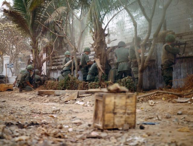 SAIGON 1968 -Tet Offensive - Góc ngã ba Võ Tánh-Trương Quốc Dung (nay là Hoàng Văn Thụ-TQD)