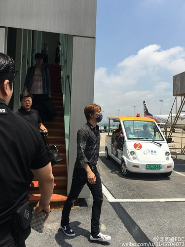 BIGBANG Arrival Nanning (2)