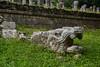 Mayan Sculpture - Chichen Itza, Mexico