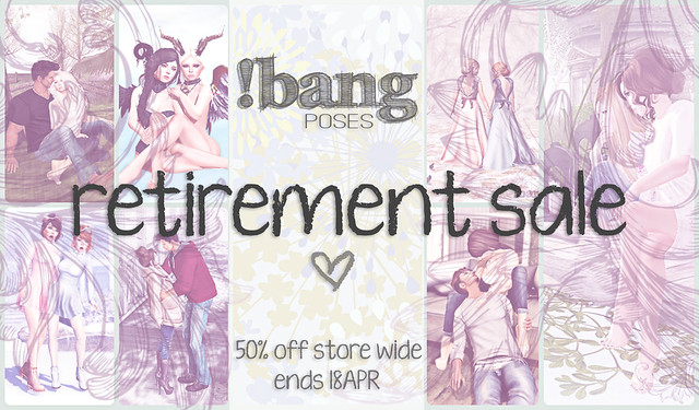 !bang poses - Retirement Sale