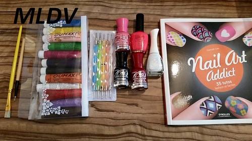 livre nail art addict
