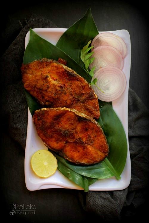 Vanjaram Fish Fry Seer Fish Fry King Fish Fry South