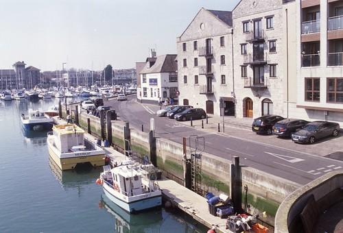 Agfaphoto Vista 200 - Weymouth - 8th April 15 - Quay Tramway (disused)