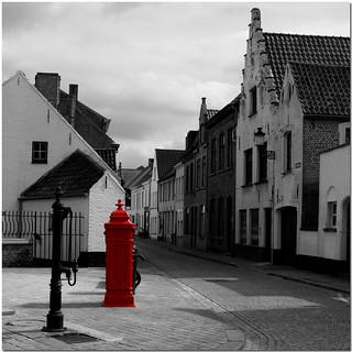 Post Box in Bruges