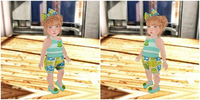 {Lil Big Me} Lily Frog Outfit