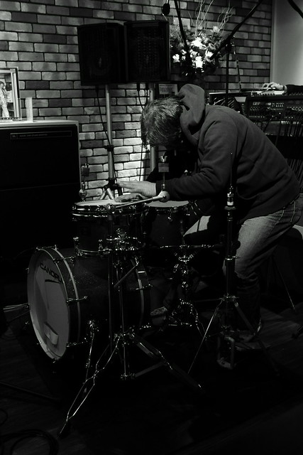 Drumming - extra shot at Cortez, Mito, 18 Apr 2015. 1062