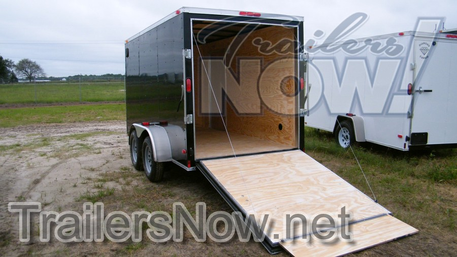 Check Them Out Black And White 6x12 Trailers In Stock NOW Allow 10 Days For Other Colors Call Custom Orders