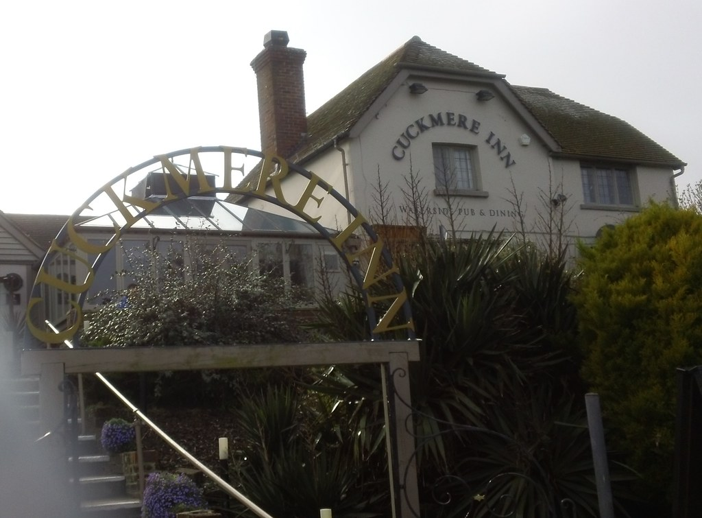 'Cuckmere Inn' formerly 'The Golden Galleon' Exceat Gap