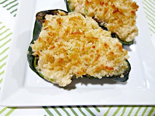 Shrimp Stuffed Poblanos 2
