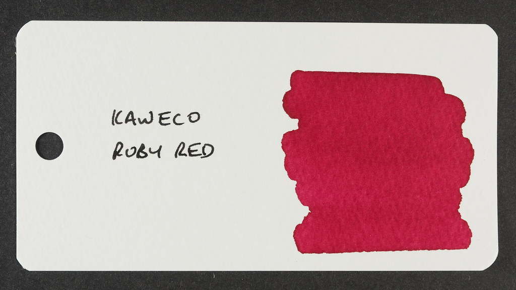 Kaweco Ruby Red - Word Card
