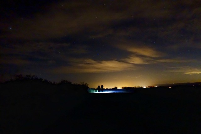 Night hike, m528