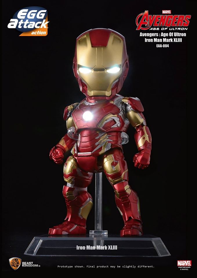 [Egg Attack] Action – Avengers: Age of Ultron Iron Man Mark 43 (EAA-004) 17122727277_469ca8536c_b