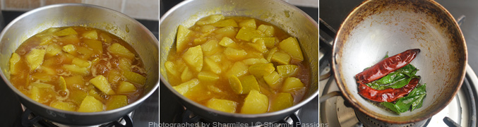 How to make Mango pachadi - Step3