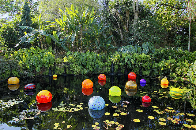 Chihuly sunrise at fairchild tropical botanic garden - Fairchild tropical botanic garden hours ...