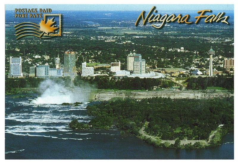 Canada - Niagara Falls 10 from American side