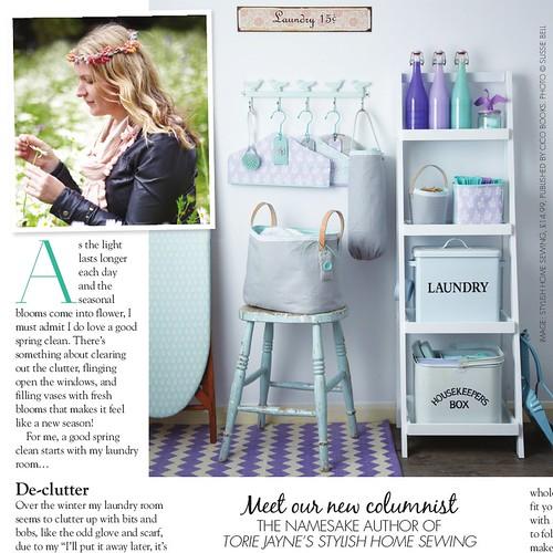 Torie Jayne in Homemaker Magazine